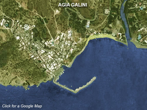 Agia Galini Location